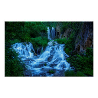 Roughlock Falls Spearfish Canyon Poster