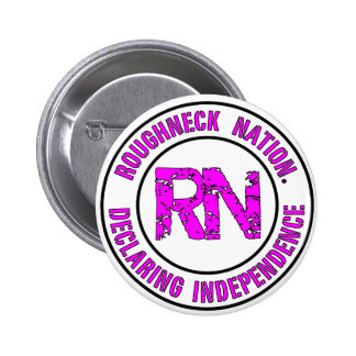 ROUGHNECK NATION LOGO 2 INCH ROUND BUTTON