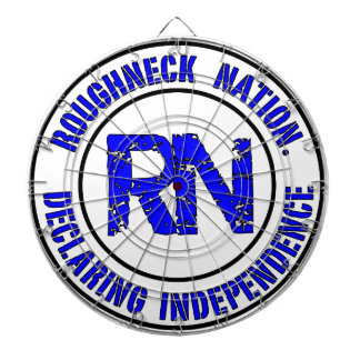 ROUGHNECK NATION LOGO DARTBOARD