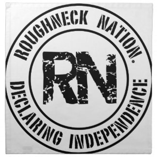 ROUGHNECK NATION LOGO NAPKIN