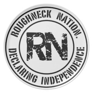 ROUGHNECK NATION LOGO PLATE