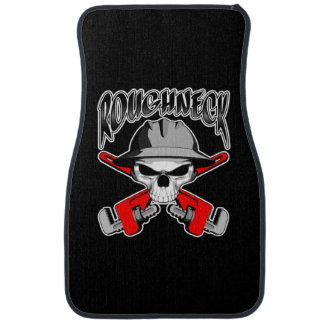 Roughneck Skull Car Mat