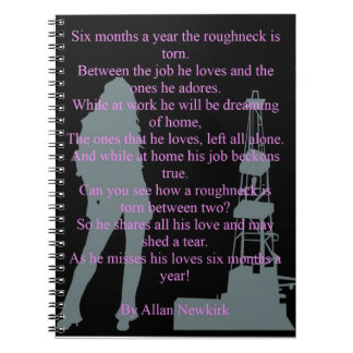 Roughneck torn notebook