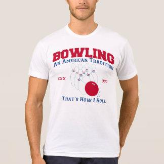 Roulant une tradition américaine 300 qui est t-shirt