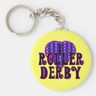 Rouleau Derby du coeur I Porte-clefs