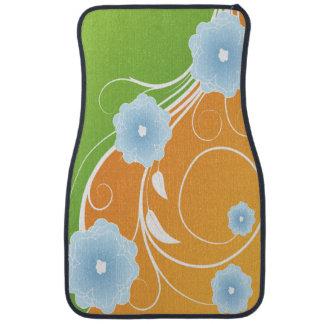 Rouleau floral de sorbet tapis de sol