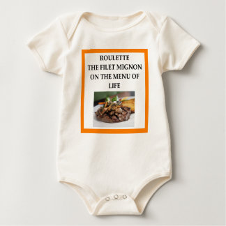 ROULETTE BABY BODYSUIT