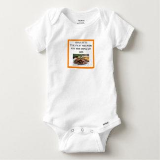 ROULETTE BABY ONESIE