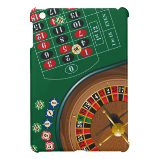 Roulette Casino Gambling Table iPad Mini Case