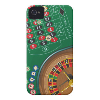 Roulette Casino Gambling Table iPhone 4 Cases