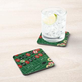 Roulette Cork Coasters