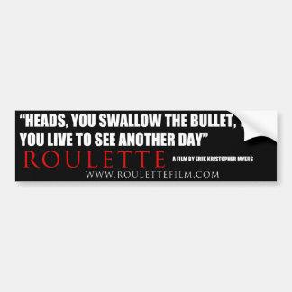 Roulette quote Sticker 2