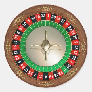 Roulette Sticker