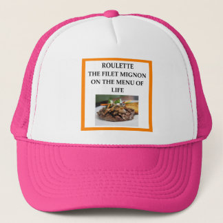 ROULETTE TRUCKER HAT