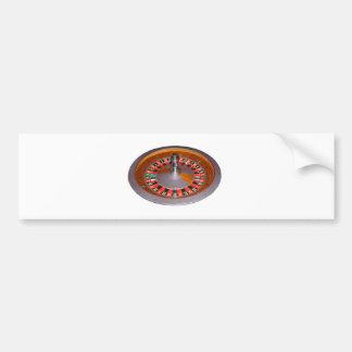 Roulette Wheel Bumper Stickers