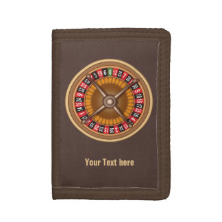 Roulette Wheel custom wallets