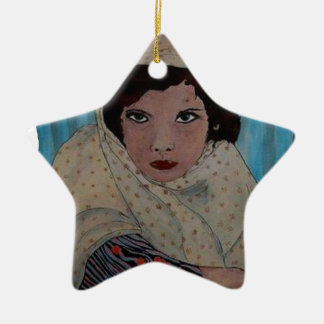 ROUMAINE.png Ceramic Star Ornament