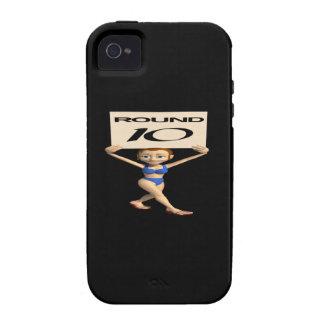 Round 10 Case-Mate iPhone 4 case