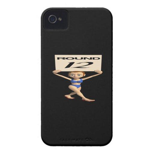 Round 12 iPhone 4 Case-Mate case