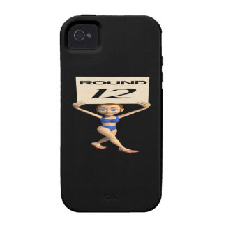 Round 12 iPhone 4/4S cover