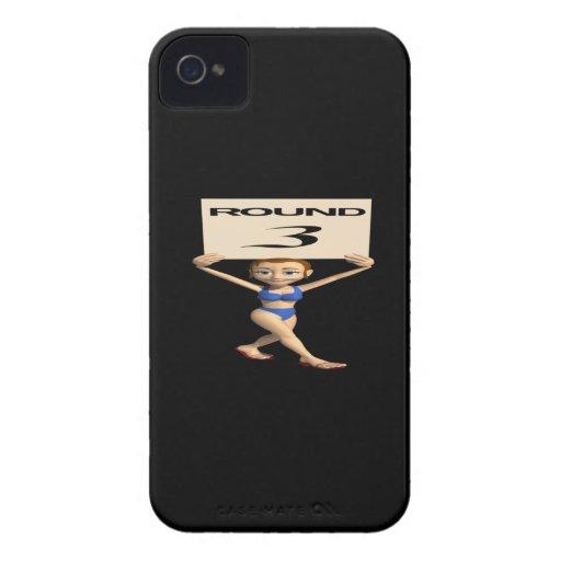 Round 3 Case-Mate iPhone 4 case