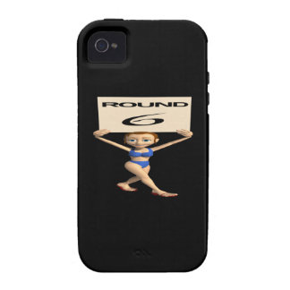 Round 6 Case-Mate iPhone 4 cover