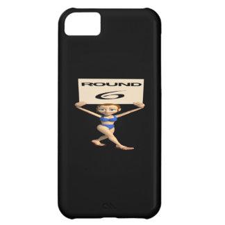 Round 6 iPhone 5C case
