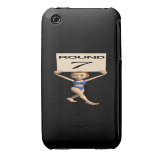 Round 7 iPhone 3 cover