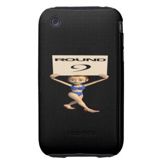 Round 9 iPhone 3 tough case