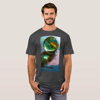 Round and Round Men's Basic Dark T-Shirt