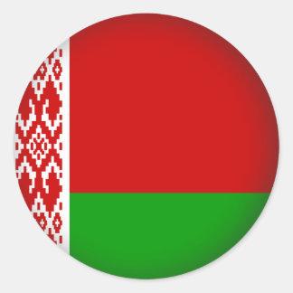 Round Belarus Classic Round Sticker