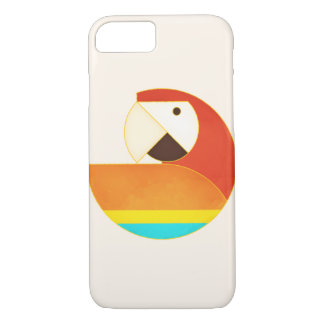 Round Bird - Macaw iPhone 8/7 Case