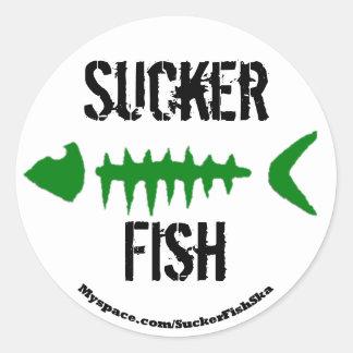 Round Bonefish Stickers