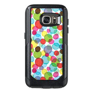 Round bubbles kids pattern 2 OtterBox samsung galaxy s7 case