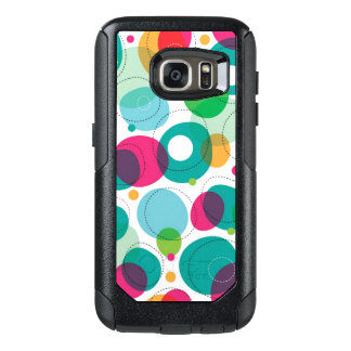 Round bubbles kids pattern OtterBox samsung galaxy s7 case