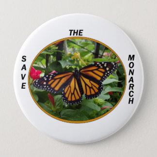 Round Button 4 Inch,Monarch Style #5