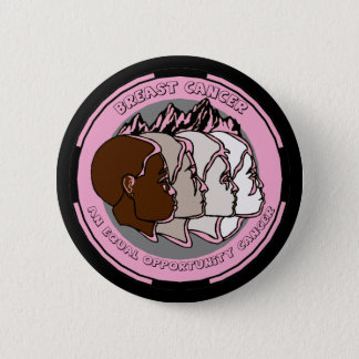 Round Button - Breast Cancer Awareness
