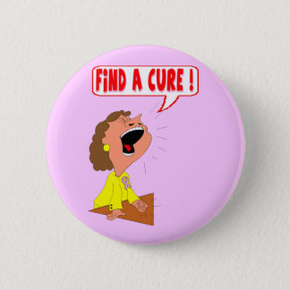 Round Button - Breast Cancer Cure