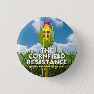 Round Button - The Cornfield Resistance