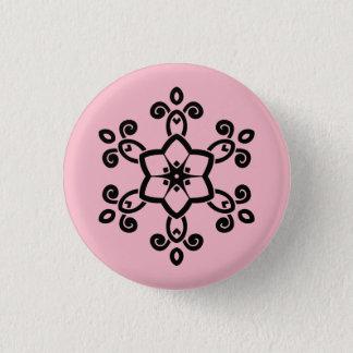 Round button with Mandala