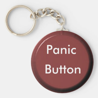 round button working, Panic, Button Basic Round Button Keychain