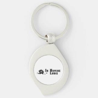 Round Carry-key metal INL Keychain