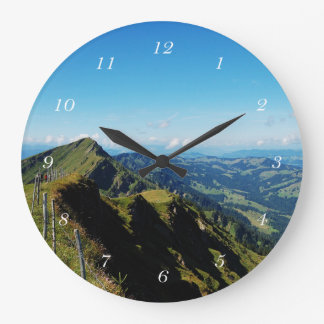 Round clock alps with upper baptism in the Allgäu