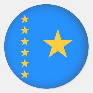 Round Congo Round Sticker