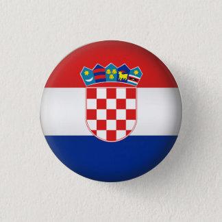 Round Croatia 1 Inch Round Button