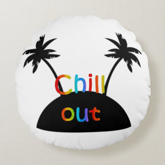Round cushion Out Chill