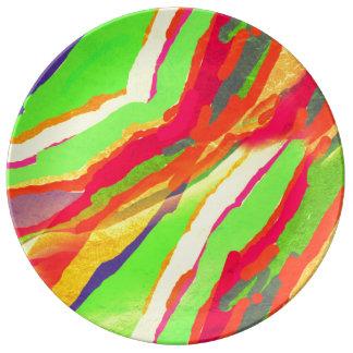 Round Decorative Porcelain Plate