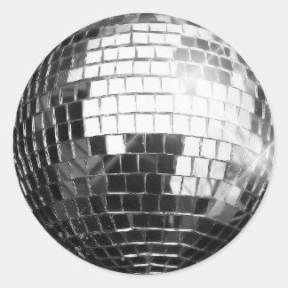 Round Disco Ball Stickers