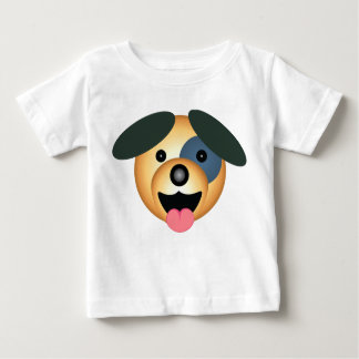Round dog happy infant t-shirt