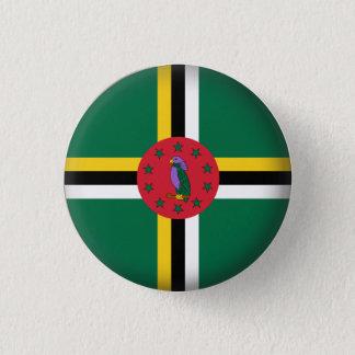Round Dominica 1 Inch Round Button